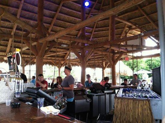 Love The Swinging Bar Stools Picture Of Mojito Bay Tiki