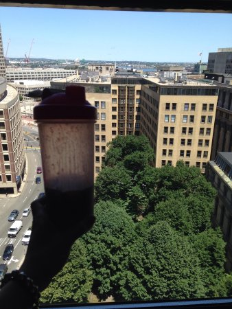 Omni Parker House: Our view from 14 floor