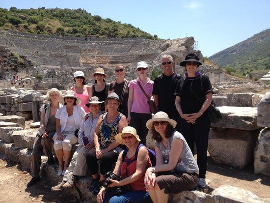 Tolga Kinas Istanbul Tour Guide: Ephessus group