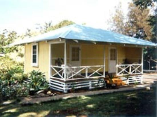 Kohala Club Hotel: Front of Cottage Rental