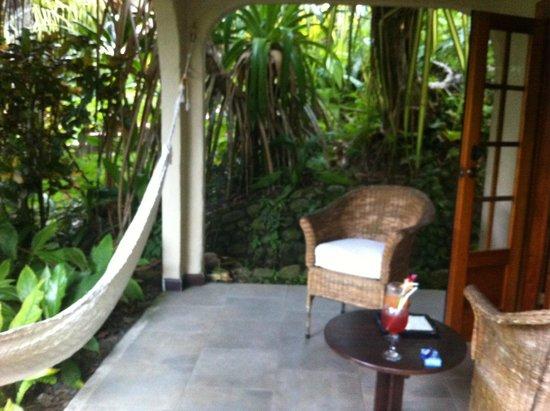 Falls Resort at Manuel Antonio : Our patio