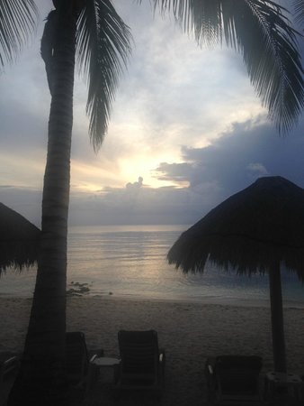 Sunscape Sabor Cozumel: View from Suite on the beach