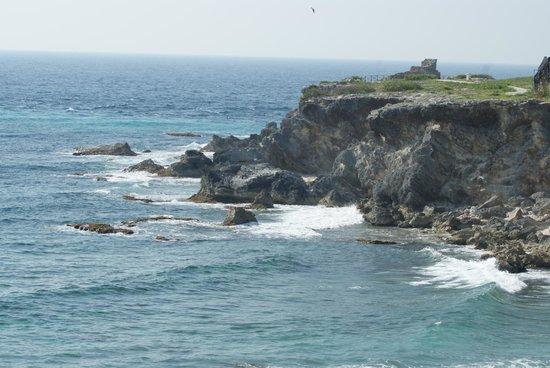 Punta Sur: acantilado