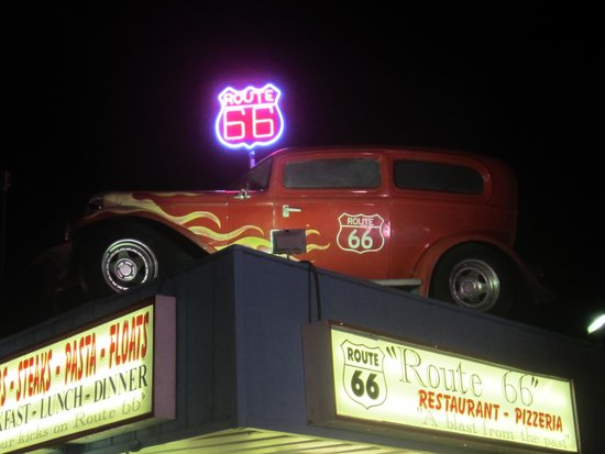 Route 66: Closeup of front from Boardwalk