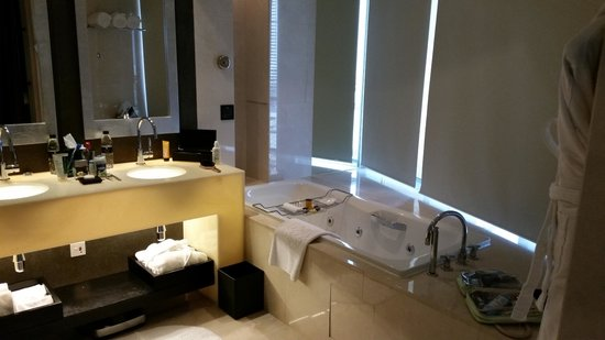 The Address Dubai Mall : Master Bathroom