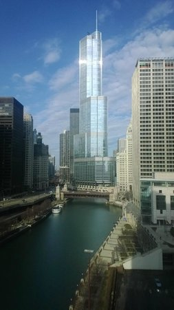 Sheraton Grand Chicago : View from our amazing room