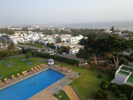 Anezi Tower Hotel : widok z pokoju