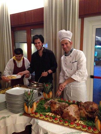 Hotel Villa Sole : Serata Romagnola. Grande Alberto!!! Bravo Chef!!!