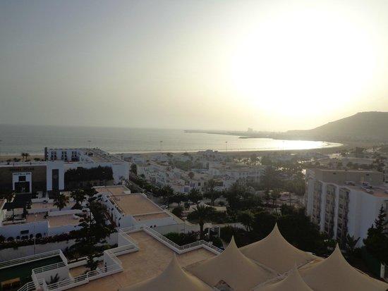 Anezi Tower Hotel : zachód