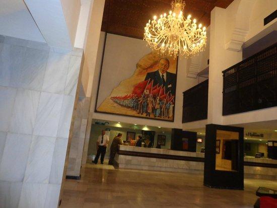 Anezi Tower Hotel : hol