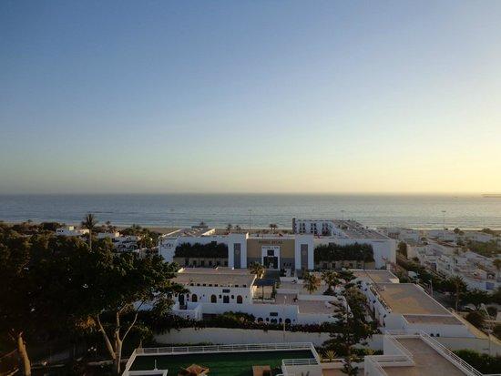 Anezi Tower Hotel : zachód słońca