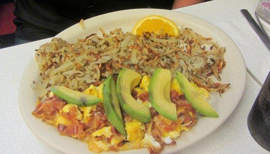 Oscar's Cafe: Breakfast at Oscar's