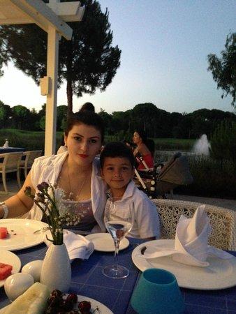Cornelia Diamond Golf Resort & Spa: Все вкусно!