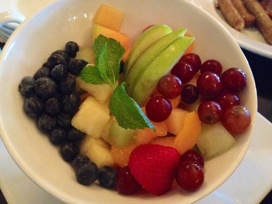 Kouzzina by Cat Cora: vibrant and colorful fruit bowl