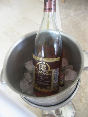 Hotel Palace Hammamet Marhaba : так подаются напитки