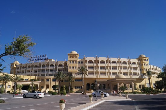 """Hotel Palace Hammamet Marhaba : а это и есть вид на """"сад"""""""