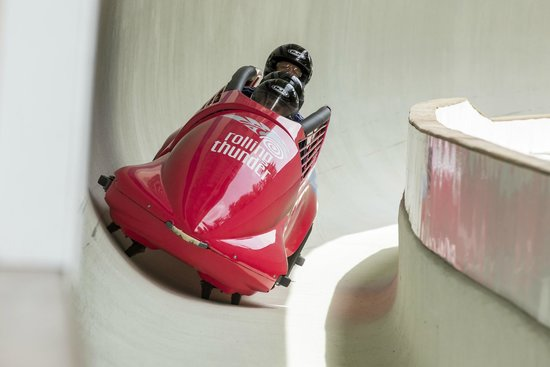 Whistler Sliding Centre: Rolling Thunder - Summer Bobsleigh on Wheels