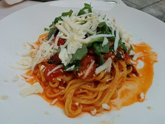 Ristorante Imbarcadero: Pasta with argula and cacioricotta