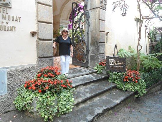 Hotel Palazzo Murat: entrada