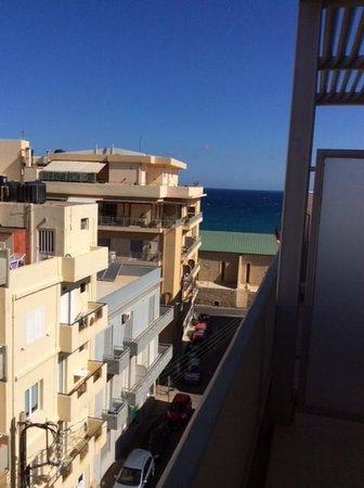 Atrion Hotel : Zixht op zee