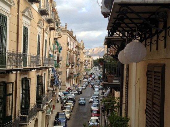 Hotel Porta Felice: View from balcony