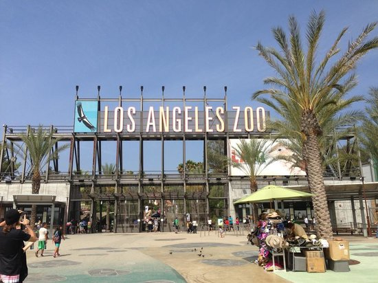 Entrance To The La Zoo Picture Of Los Angeles Zoo Botanical Gardens Los Angeles Tripadvisor