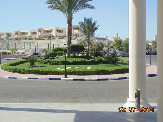 Hilton Hurghada Long Beach Resort: на территории