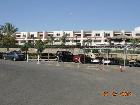 Hilton Hurghada Long Beach Resort: вид из номера