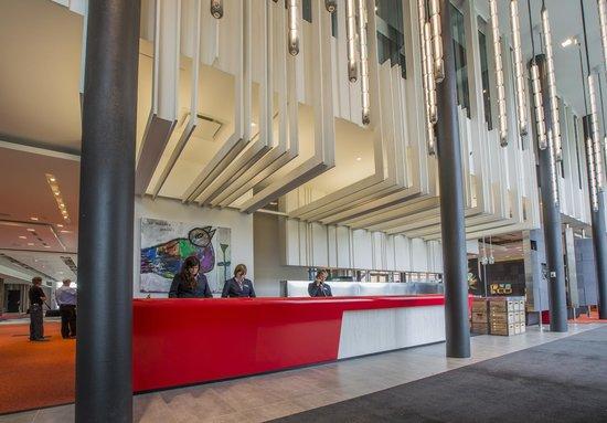 Hotel Le Germain Charlevoix : Hôtel La Ferme - Réception