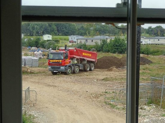 The Bay Filey: another load of soil