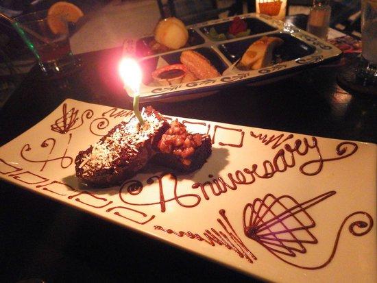 Kondesa Restaurante: A special dessert!