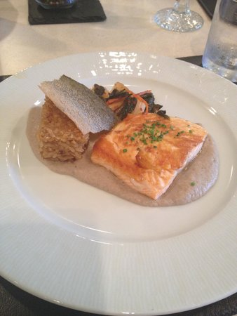 Canyon Ranch in Lenox: Demo Kitchen Arctic Char