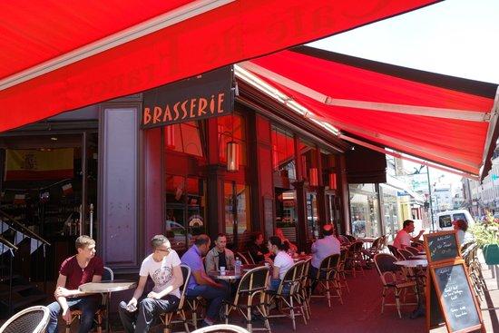 Cafe de France: varanda