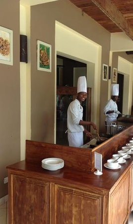 Neptune Pwani Beach Resort & Spa : pasta station