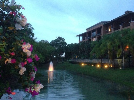 JW Marriott Panama Golf & Beach Resort : Vista de la Laguna y los edificios