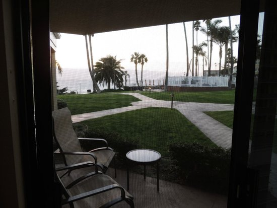 SeaCrest OceanFront Hotel: View from room patio