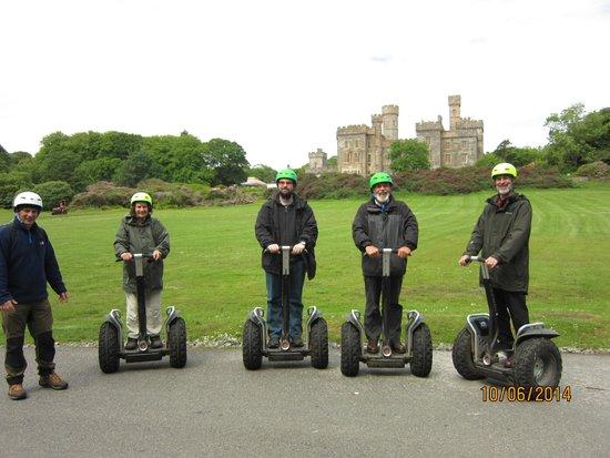 Segway Hebrides: Segway group at Lews Castle
