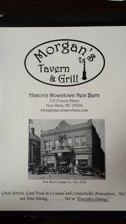 Morgan's Tavern & Grill has a history