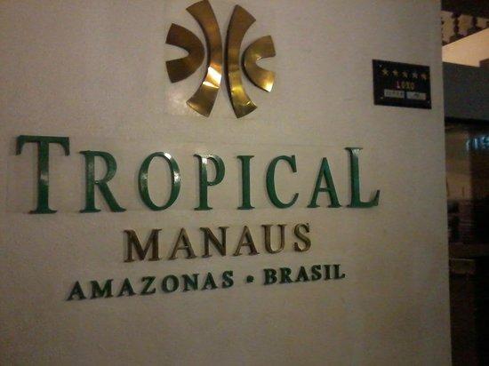 Tropical Manaus Ecoresort: entrada