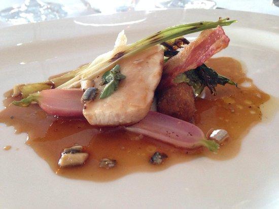The Pompadour by Galvin: Pork dish