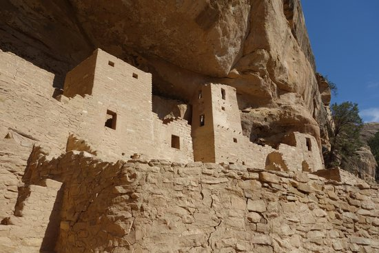 Cliff Palace : A close-up