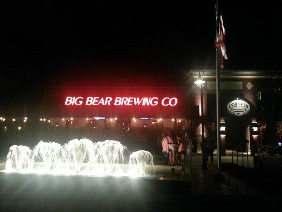 Big Bear Brewing Company: Big Bear Brewing at night
