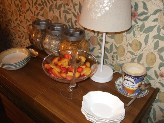 Paradise House B & B : Delicious choice of breakfasts