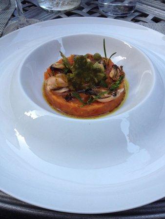 Restaurant des Voisins : Piperade de poivrons avec moules
