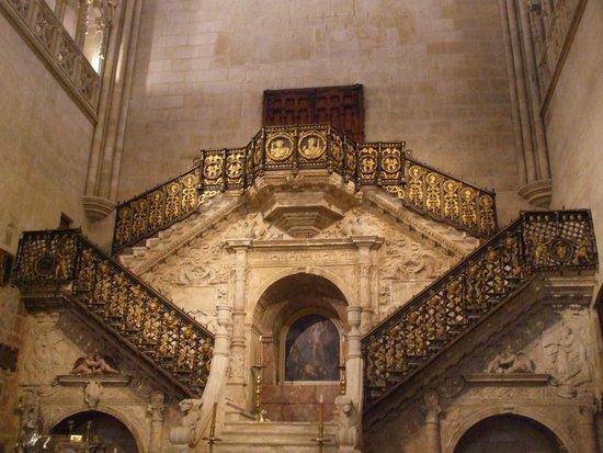 Burgos Cathedral: intérieur de la cathédrale