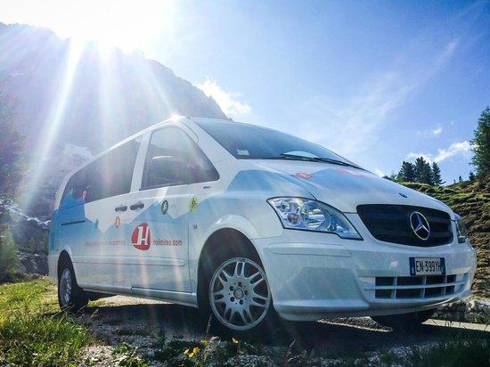 Holimites - Holiday into the Dolomites: Our van is ready for every kind of service