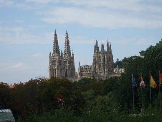 Burgos Cathedral: les flèches de la cathédrale
