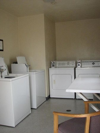 Affordable Corporate Suites: Onsite Laundry