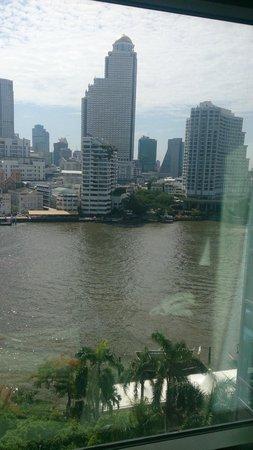 The Peninsula Bangkok: view from room 902