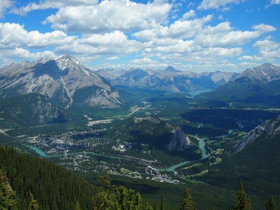Banff Gondola : Banff is under your feet.